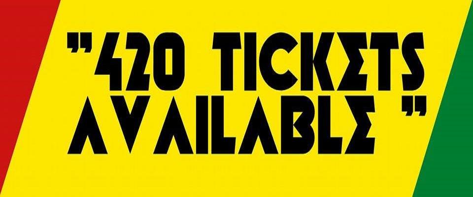 Club Jamaica 420 Tickets available
