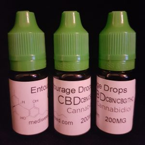 Entourage CBD Oil Dropper 200mg