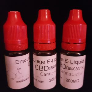 Entourage Oil CBD E-Liquid 200mg
