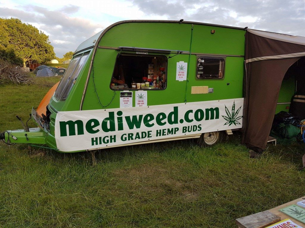 Hempvan at Wilkswood Festival