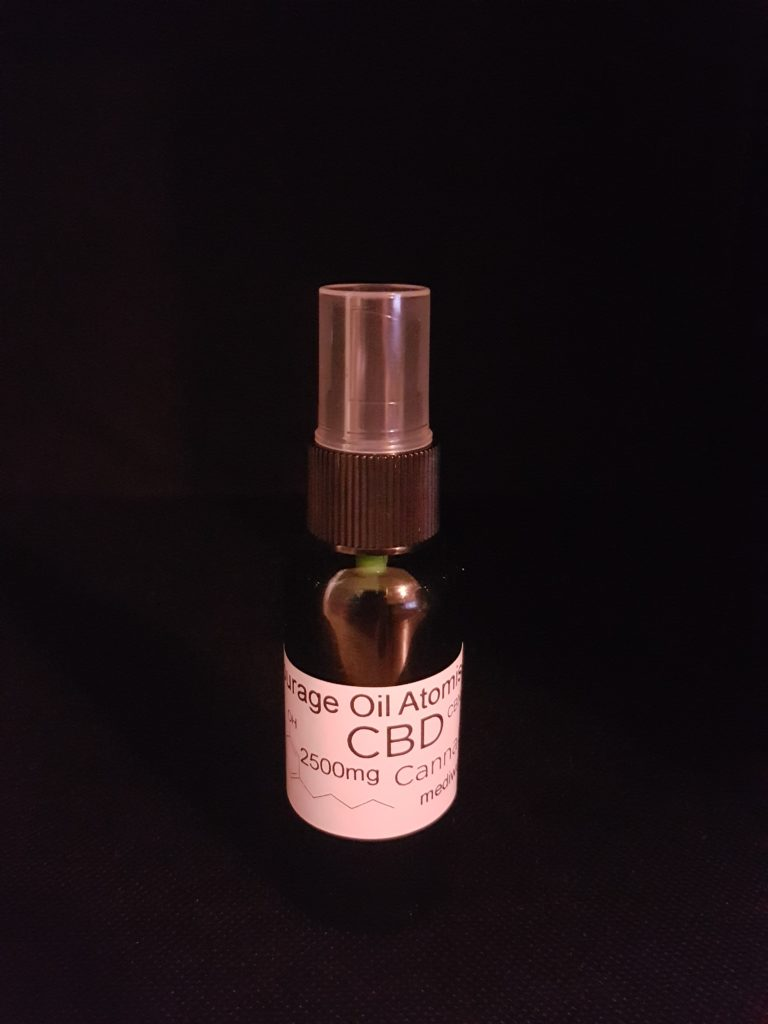 Entourage Oil Atomiser 2500mg x 3