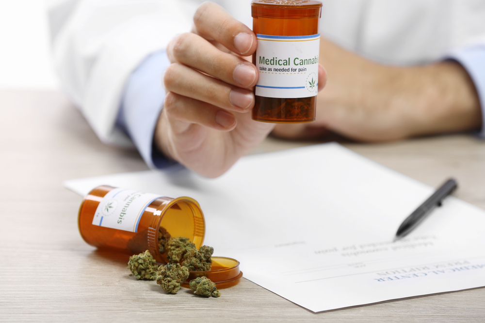 Medical cannabis on prescription
