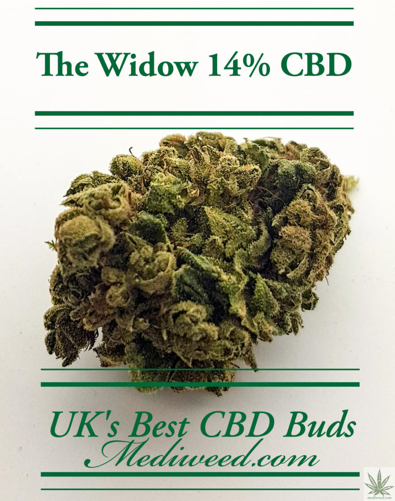 The Widow 14% CBD Flower buds UK