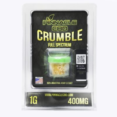 Cbd isolate crumble extract