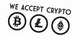 we accept cryptocurrency